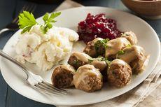 Resep Swedish Meatball ala IKEA, Lengkap dengan Sausnya