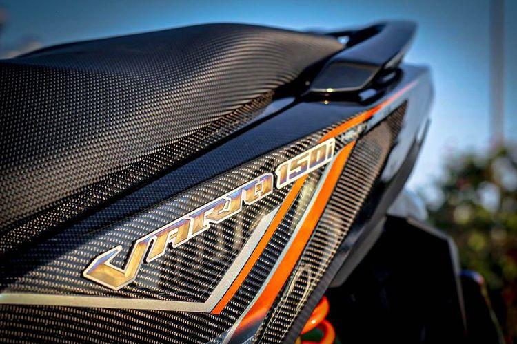 Modifikasi Honda Varin 150 Full Karbon