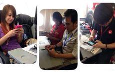 AirAsia Uji Internet WiFi, Penumpang Indonesia Kebagian