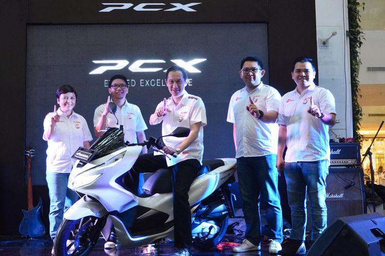 Peluncuran Honda PCX 150 di Bandung