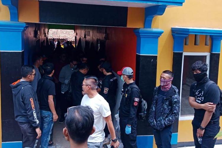 Dua terduga teroris ditangkap di wilayah Cianjur, Jawa Barat, Kamis (14/11/2019).