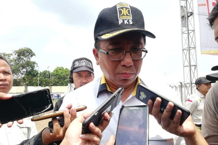 Haru Suandharu, Sekretaris Badan Pemenangan Provinsi Prabowo-Sandiaga Jawa Barat .
