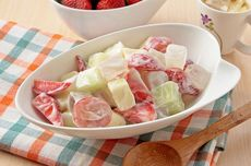 Resep Salad Buah Jelly, Makanan Sehat yang Enak