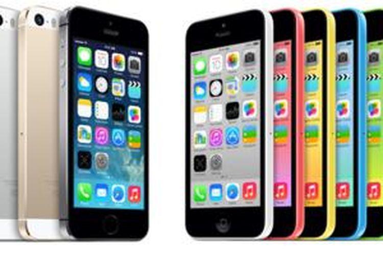 Apple iPhone 5S dan iPhone 5C