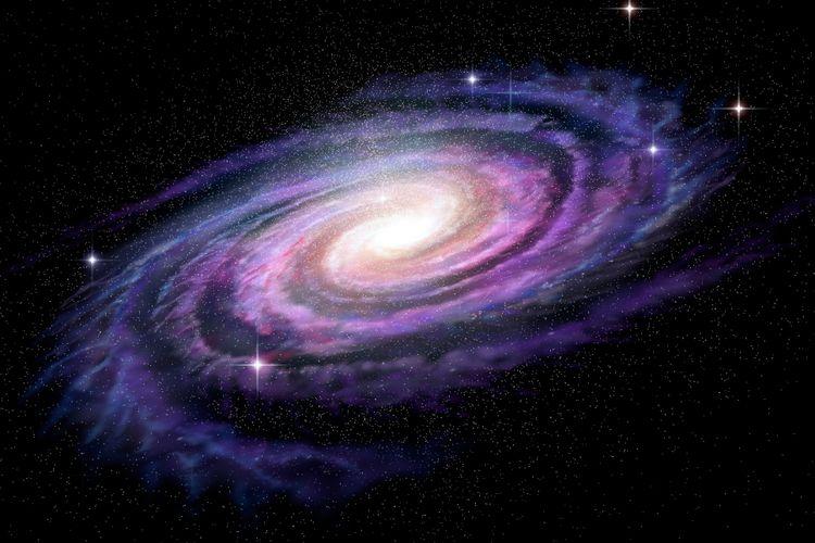 Ilustrasi galaksi