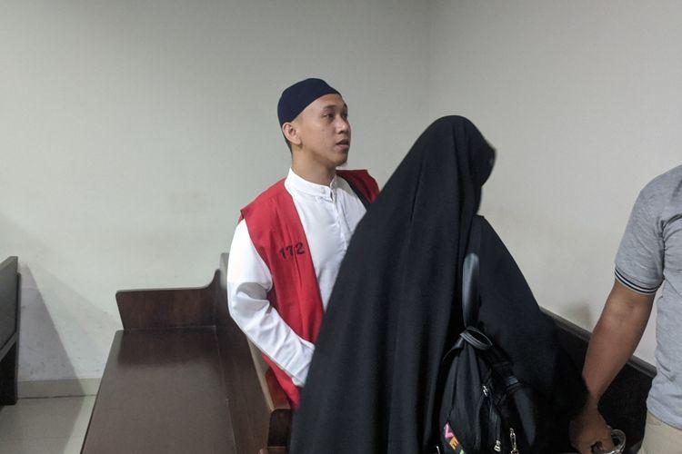 Sidang kasus pria yang ancam penggal kepala Jokowi di Pengadilan Negeri Jakarta Pusat yang kembali di tunda, Kamis (13/2/2020)