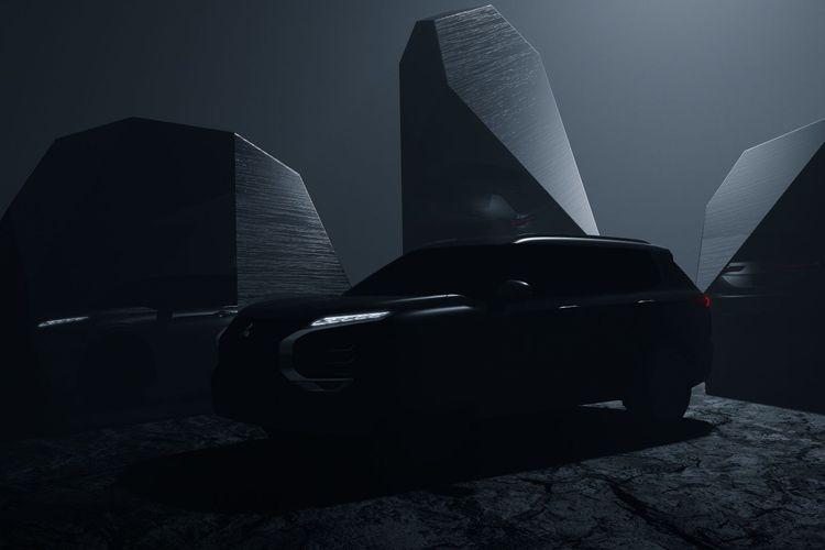 Siluet Mitsubishi Outlander 2021