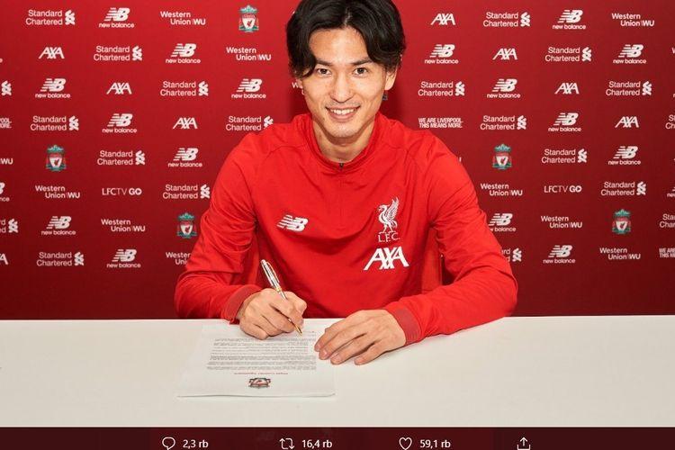 Pemain baru Liverpool, Takumi Minamino