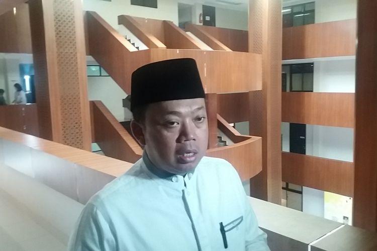 Korbid Pemenangan Pemilu Indonesia I, Jawa, Sumatera DPP Partai Golkar, Nusron Wahiddi Kantor DPP Partai Golkar, Slipi, Jakarta Barat, Jumat (22/12/2017).