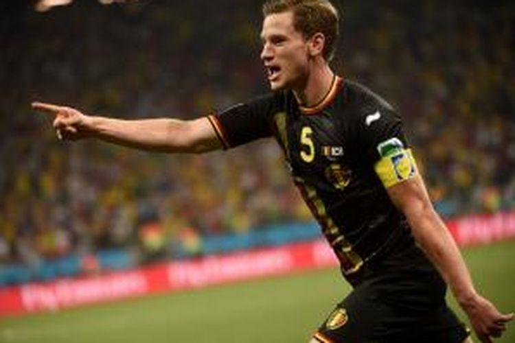 Bek tim nasional Belgia, Jan Vertonghen.