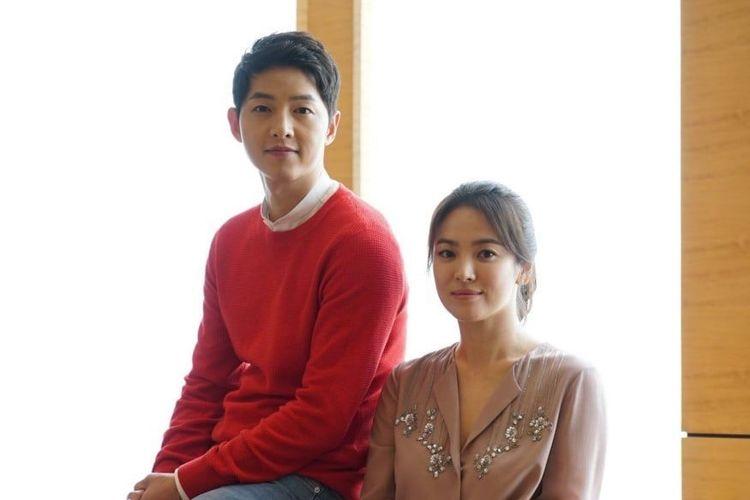 Pasangan selebritas Korea, Song Joong Ki dan Song Hye Kyo, yang tengah dalam proses cerai.