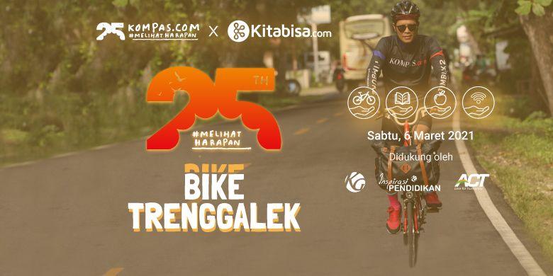 #MelihatHarapan Bike Trenggalek 2021, Sabtu (6/3/2021).