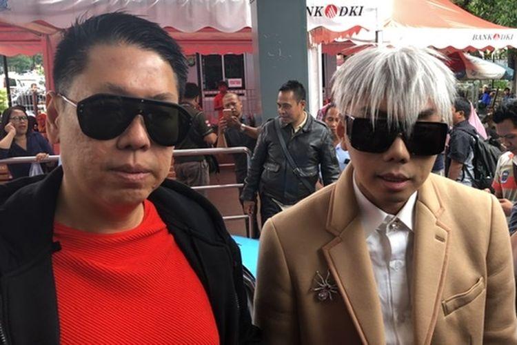Roy Kiyoshi saat ditemui di Polda Metro Jaya, Jakarta Selatan, Kamis (14/11/2019).