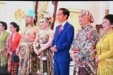 Presiden Jokowi Hadiri Resepsi Pernikahan Putra Sulung Paku Alam X