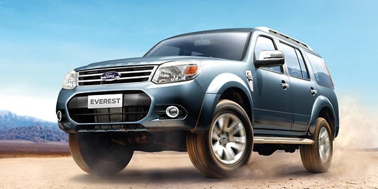 Ford Everest facelift