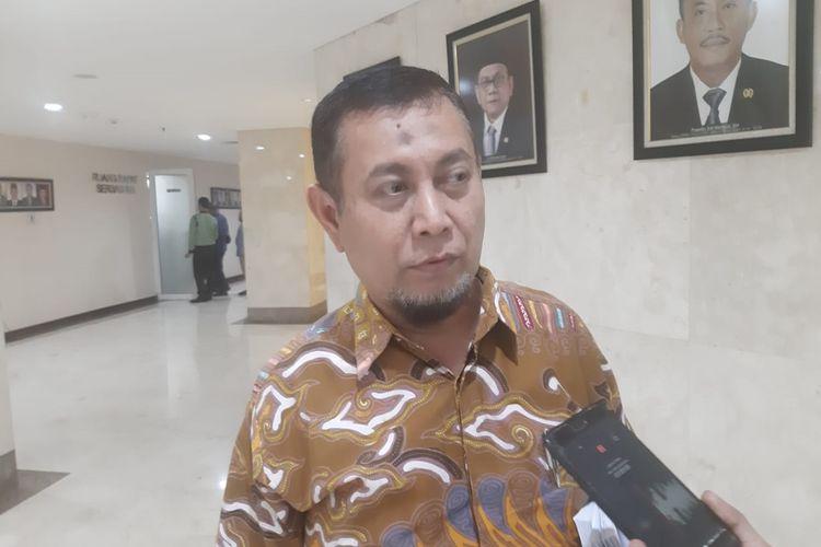 Anggota DPRD DKI Jakarta Fraksi PKS Ahmad Yani di gedung DPRD DKI Jakarta, Jalan Kebon Sirih, Jakarta Pusat, Selasa (10/09/2019)