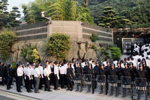 Polisi Jepang Tangkap Pemimpin Yakuza Terbengis