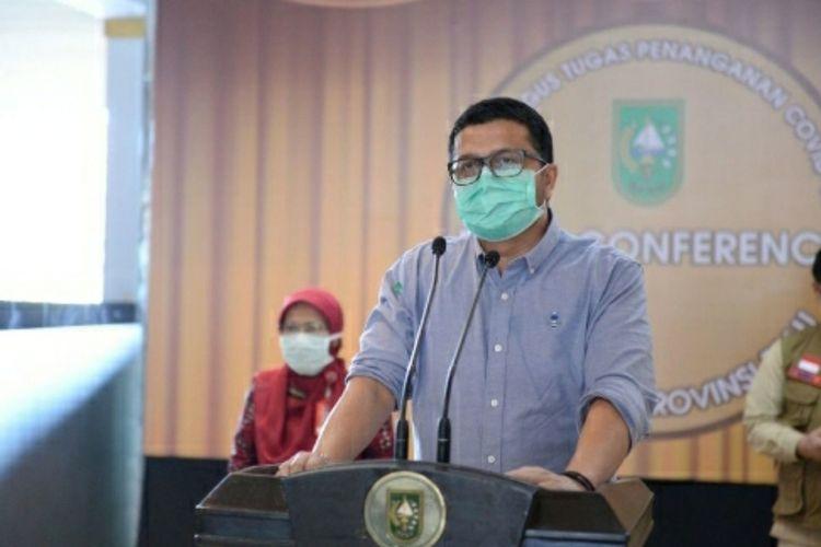 90 Persen Kasus Positif Covid 19 Di Riau Berasal Dari Pemudik