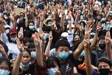 Saat Demonstran di Thailand Berkoordinasi dengan Bahasa Isyarat Baru