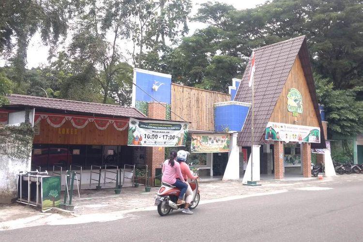 Foto: Taman Hewan Pematangsiantar di Jalan Simanuk manuk, Kelurahan Teladan Kecamatan Siantar Barat Kota Pematangsiantar, Kamis (28/8/2021).