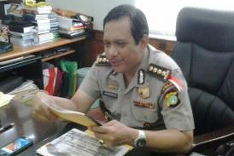 Kepala Bidang Humas Polda Metro Jaya, Komisaris Besar Rikwanto