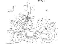 Honda Patenkan Sistem Airbag Buat Skutik Sekelas PCX
