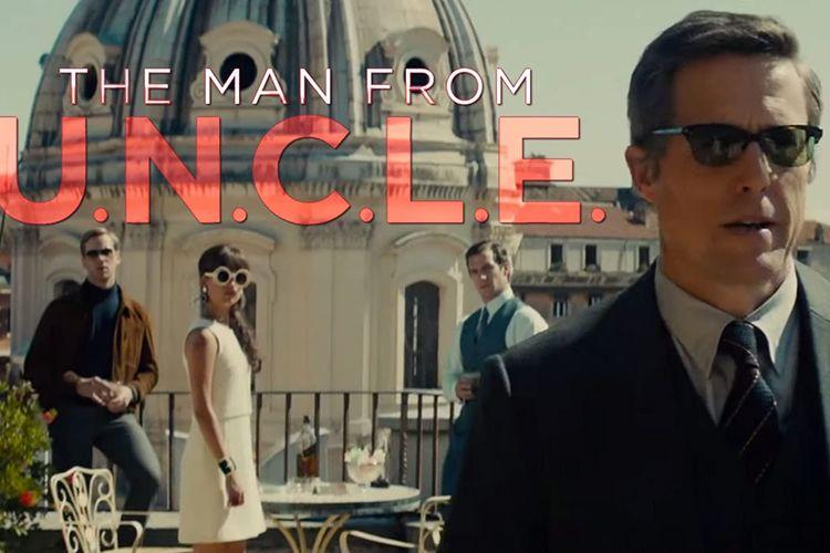Film The Man from U.N.C.L.E tentang CIA dan KGB yang bekerja sama.