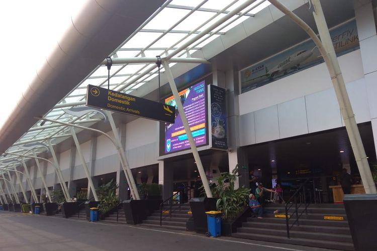 Kondisi Bandara Husein Sastranegara.