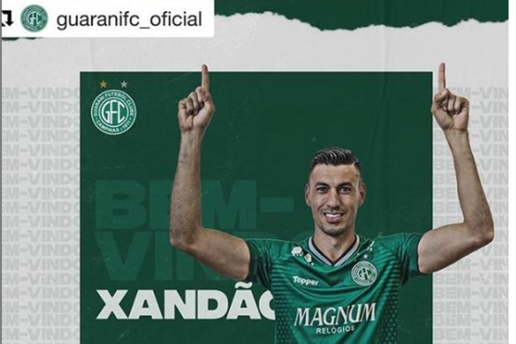 Pemain baru Persija Jakarta, Alexandre Luiz Reame Xandao.