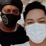 Cerita Azriel Hermansyah Sampai Bisa Foto Bersama Ronaldinho
