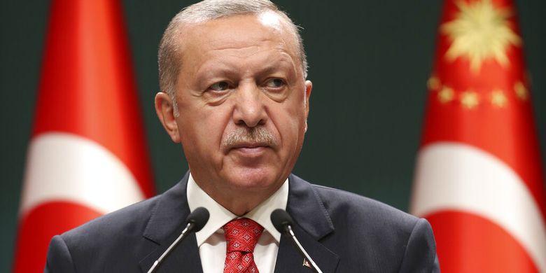 Erdogan Minta Warga Turki agar Boikot Produk Peran