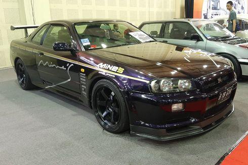 Nissan Skyline GT-R Berbalut Aksesori Mine's di IMX 2019
