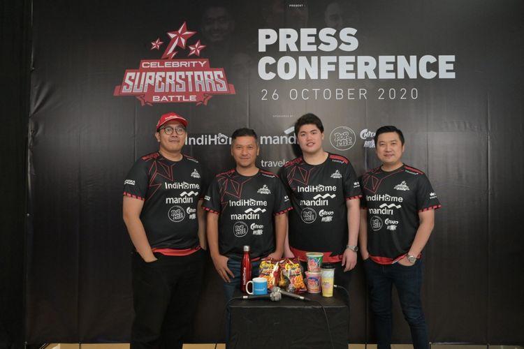 Para atlet eSports profesional akan menantang sejumlah selebritis Tanah Air dalam ajang Celebrity Superstars Battle.
