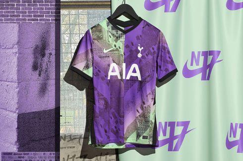 Mencolok dan Berani, Jersey Ketiga Tottenham Hotspur Musim 2021/2022