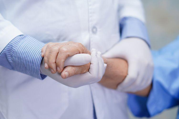 Ilustrasi pasien positif Covid-19, terinfeksi virus corona