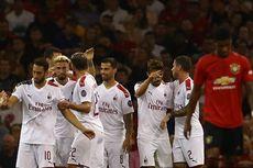 Man United Vs Milan, Putra Maldini Gagal Penalti, Setan Merah Menang
