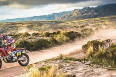 Honda Berpotensi Besar Libas KTM di Reli Dakar 2015