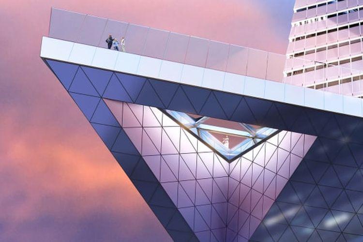Setelah resmi diluncurkan, Edge akan menjadi dek observasi tertinggi kelima di dunia.