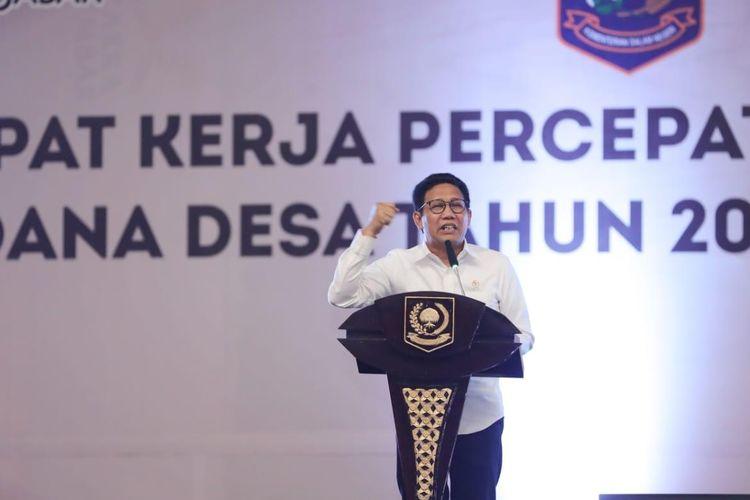 Menteri Desa, Pembangunan Daerah Tertinggal dan Transmigrasi (Mendes PDTT) Abdul Halim Iskandar dalam salah satu kesempatan.