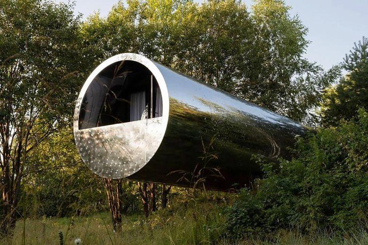 Rumah berbentuk pipa di Rusia