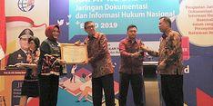 JDIH Kemnaker Raih Penghargaan Tingkat Kementerian