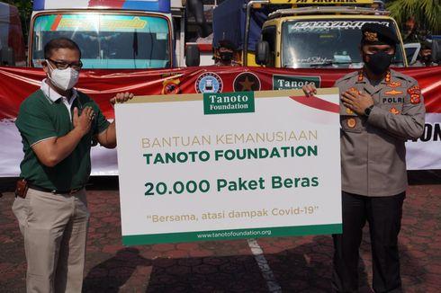 Bantu Masyarakat Terdampak Pandemi, Tanoto Foundation Donasikan 300 Ton Beras Premium