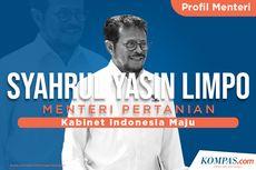 [INFOGRAFIK] Profil Syahrul Yasin Limpo, Menteri Pertanian