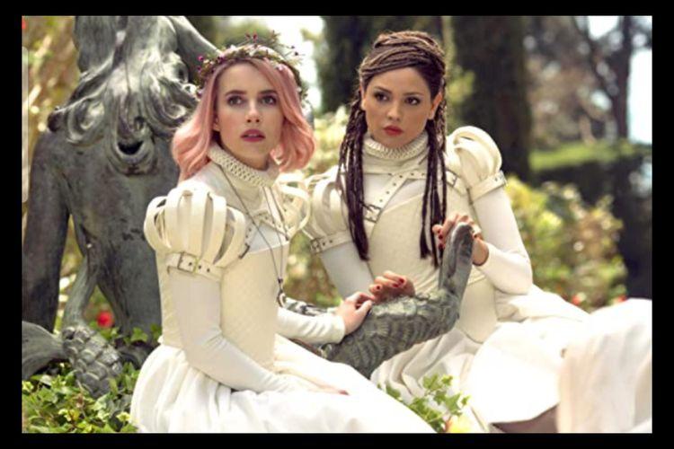 Sinopsis Paradise Hills Upaya Emma Roberts Melarikan Diri Dari Asrama Berbahaya Halaman All Kompas Com