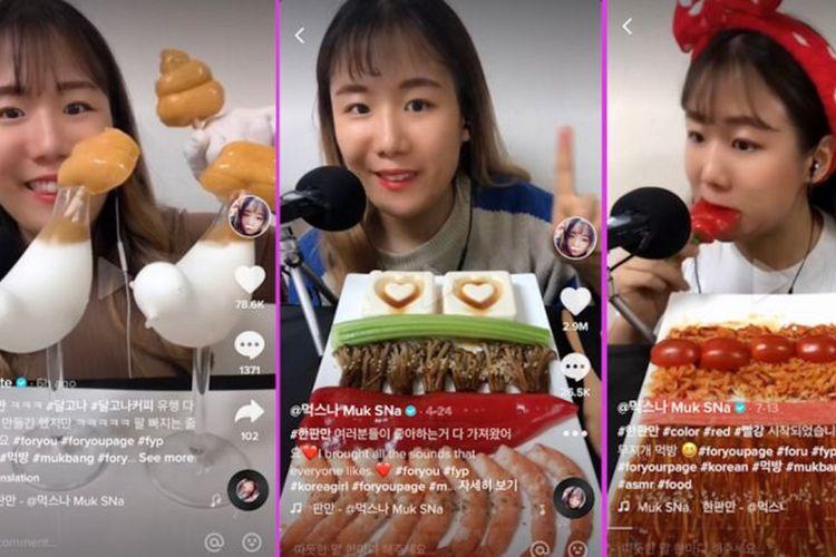 Sna, alias a.bite, mendapat penggemar dari seluruh dunia karena caranya menyajikan dan menyantap makanan, dan memiliki 6,2 juta pengikut di TikTok.
