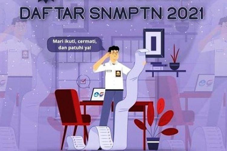 7 tahapan pendaftaran SNMPTN 2021 bagi siswa eligible.