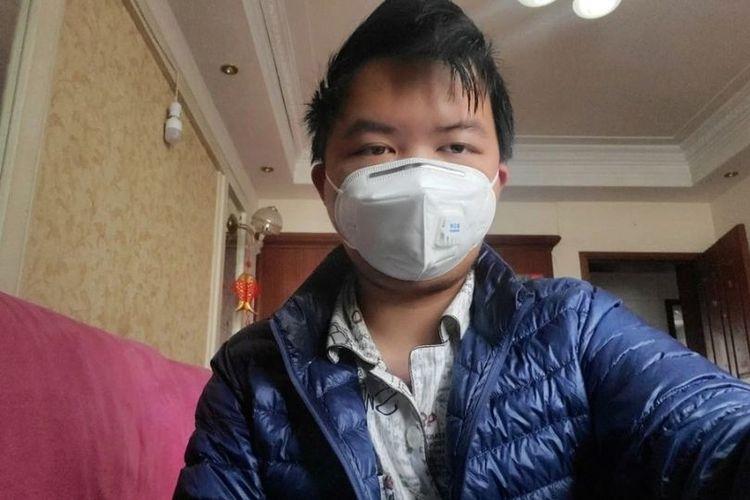 Tiger Yee, pelajar 21 tahun di Wuhan