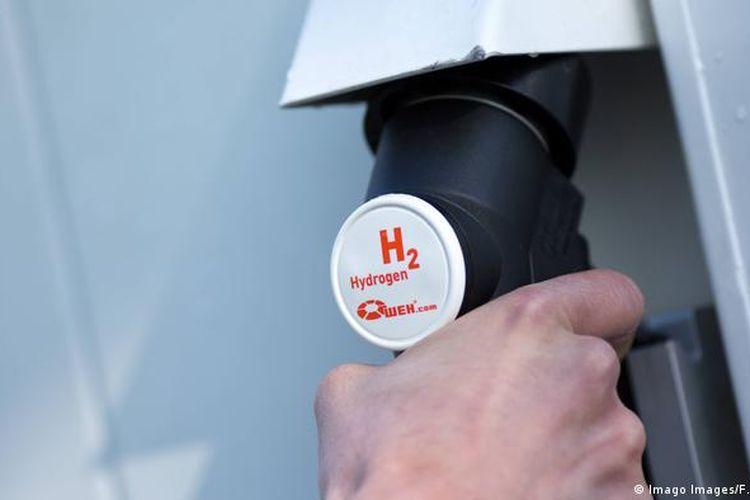 Foto ilustrasi bahan bakar hidrogen.