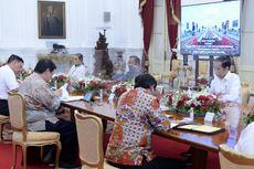 Jokowi dan Sejumlah Menteri Terlihat Rapat Tanpa Masker, Ini Penjelasan Istana