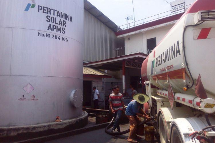 PT Pertamina (Persero) MOR I merealisasikan program BBM Satu Harga di beberapa wilayah terpencil di Sumatera Bagian Utara, Kamis (10/8/2017)